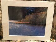 Rodney Lough Jr Dawns Misty Water Colorado Ap Level 1 Field Notes Matted