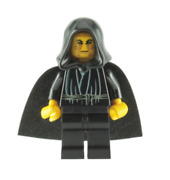 Lego Emperor Palpatine 7200 7166 3340 Yellow Head And Hands Star Wars Minifigure