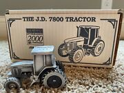 1/43 John Deere 7800 Tractor Spec Cast Pewter Toy Jdm033 1994 New Orleans Expo