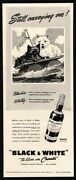 1942 Black And White Scotch Whiskey - Scottish Terrier And Westie Dogs Vintage Ad