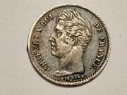 Was 100 France 1828 A 1/4 Franc Low Mintage Only 15731