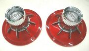 1964 64 Ford Car Taillight Lens Set W/back Up Light Fomoco Ford Script New