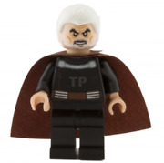 Lego Count Dooku 75017 White Hair Episode 2 Star Wars Minifigure