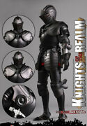 Coomodel Se035 Knights Of The Realm Black Knight 2018 Shcc 1/6 Model Toy Instock