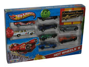 Hot Wheels Exclusive Deco 2013 Holiday Christmas 9-pack Set - Toys R Us Exclu