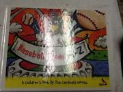 Autographed Baseball From A - Z A Childrenand039s Book By St Louis Cardinals Wives