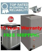2 Ton R-410a 14seer Heat Pump System Condensing Unit / Air Handler With Coil