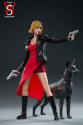 Swtoys Fs026 Alice 3.0 Resident Evil 16 Action Figure Set With Dog Toy Instock