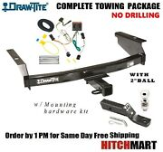 Fits 2002-2007 Jeep Liberty Class 3 Trailer Hitch Package W 2 Ball 75128