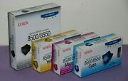 Xerox Oem Full Set 8500/8550 Solid Ink 108r00669/70/71/72 15 Cubes -new Sealed