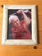 """Arnold Palmer Autograph Photo 8"""" X 10"""" Great Condition Collectible"""
