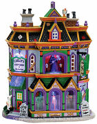 Lemax 75495 Carlofand039s Costumes And Masks Spooky Town Building Halloween Retired I