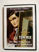 The Man From Texas / Heart Of Texas Ryan - Tom Mix Double Feature Dvd 1915 1917