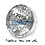 7.5 Headlight Replacement Crystal Clear Lens Plastic E Mark