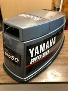 1988 Yamaha 50 Hp 2 Stroke Outboard Top Cowl Hood Cover Freshwater Mn