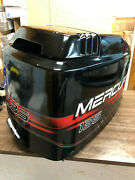 1998 Mercury Optimax 135 Hp V6 Outboard Engine Hood Top Cowl Cover Freshwater Mn