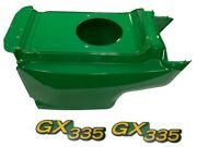 New Lower Hood And Set Of 2 Decals Replaces Am132688 M145997 Fits John Deere Gx335