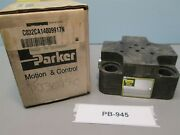 Parker C032ca14009917n 32mm Cover Assembly For 2-way Slip-in Cartridge Valve Nib