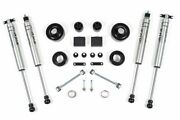 Bds 2 Coil Spacer Kit With Nx2 Shocks For 2007-2018 Jeep Wrangler Jk 2 Door 4wd