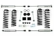 Bds 2 Lift Kit With Nx2 Shocks For 2012-2018 Jeep Wrangler Jk 4 Door 4wd