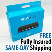 Echo Auto +free Air Vent Mount Alexa Smart Assistant For Vehicle Car New