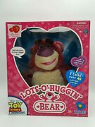 Toy Story Collection Lots O Huggin Bear Rare Thinkway Movie Replica Rare