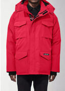 Canadian Goose Men's Constable Parka Red Size Xl New With Tag Genuine Authentic