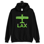 Fly Los Angeles Lax Airport Hoodie - Hoody Men S-3xl - Gift Pilot Plane Aviation
