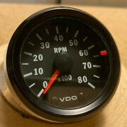 Vdo 2 Tach, Cockpit Series, 8000 Rpm, Dunebuggy Vw Untested As-is Parts Repair
