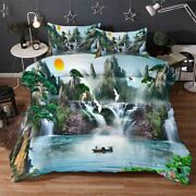 Waters Skies Merge 3d Printing Duvet Quilt Doona Covers Pillow Case Bedding Sets