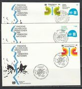 United Nations Scott 320-1 G92 And V11 Combo Fdc - Peacekeeping Ops