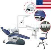 Dental Unit Chair Hard Leather Computer Controlled Fda Ce Approved Fast Ship