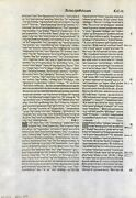 1514 Complutensian Polyglot Bible Leaf - Spain - New Testament Extremely Rare