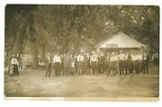 Rppc Crowand039s Ferry Ice Cream Liverpool Pa Millersburg Perry Real Photo Postcard 1