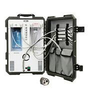 Dental Portable Delivery Unit System Rolling Compressor Suction 4h Connections