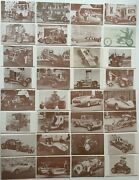 Hot Rods And Customs Car Exhibit Card Set 32 Cards 1972