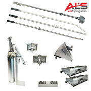 Platinum Drywall Finishing Set W/10 And 12 Boxes W/ 2.5 And 3.5 Angle Heads