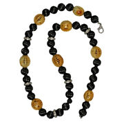Natural Jade Beads 925 Sterling Silver Diamond Necklace Jewelry