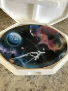 Set Of 8 Star Trek Space The Final Frontier Collector Plates, Hamilton Coll.