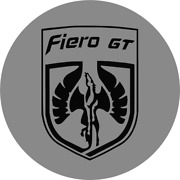 Fiero Gt Wheel Center Cap Overlay Decals Choose Your Colors 5 In A Set