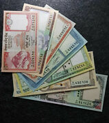 Nepal 5102050100500 And 1000 Rs Banknote Sets 7pcs Unc+free 1 B/noted8759