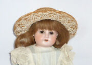 Old Porcelain Head Doll Handwerck Hchh Doll Dolls Dolls Brustblattpuppe Tete