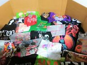 Wholesale Bulk Lot Of 75 Graphic Novelty Printed T-shirts Assorted Size And Styles