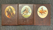 The Old West Time Life Books 3 Book Set Gunfighters, Cowboys And Great Chiefs