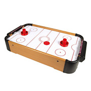 Global Gizmos Table Top Air Hockey Set Kids Adults Family Gift Game Fun