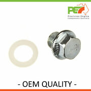New Oem Quality Sump/drain Plug For Holden Commodore Vl 3.0l Rb30et.