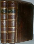 Travels Through The Low-countries Germany Italy And France By John Ray 1738 Vg