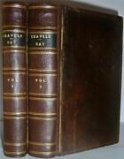 Travels Through The Low-countries, Germany, Italy And France By John Ray, 1738, Vg