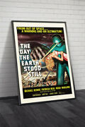 The Day The Earth Stood Still 20th Century Fox 1951 Ii Movie Poster Framed