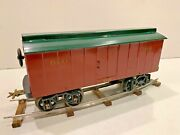 Reproduction Gauge 2 Voltamp 2108 Boxcar By John Harmon With Cast Iron Wheels